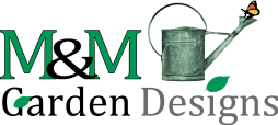 M&M Garden Design Logo